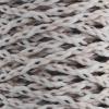 Braided Macrame Cord 4mm 70yds White/brown/sand/beige